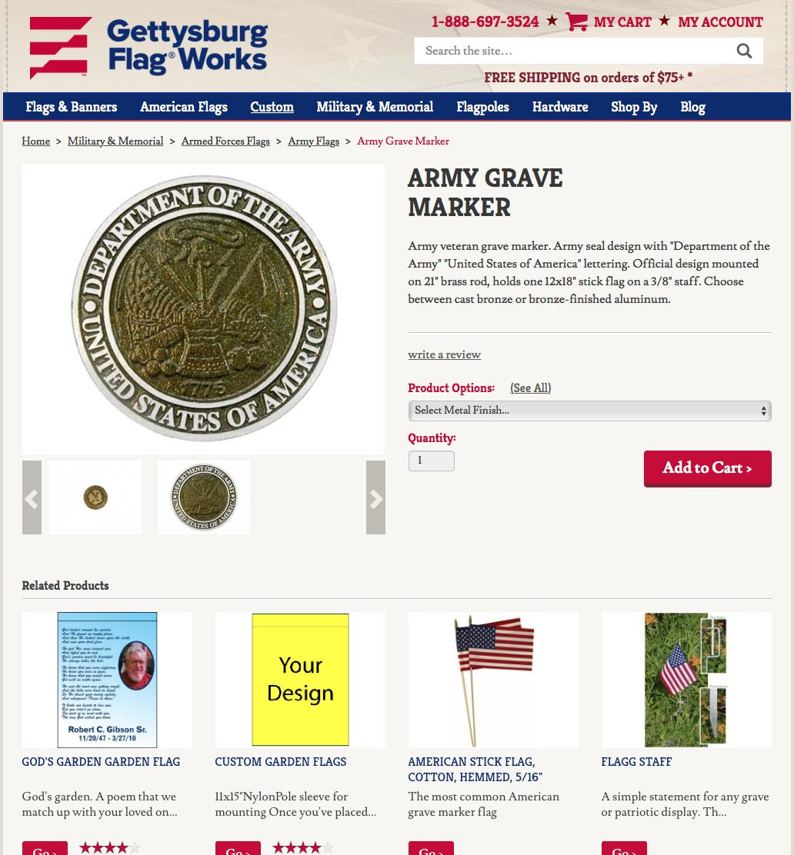 GettysburgFlag com – Cronin Technology Consulting